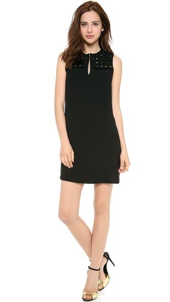 Diane Von Furstenberg Hope Sleeveless Dress - Black