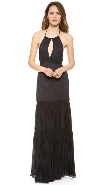 Diane Von Furstenberg Aden Maxi Dress - Black