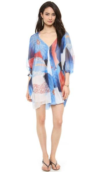 Diane Von Furstenberg Fleurette Dress - Batik Land Large