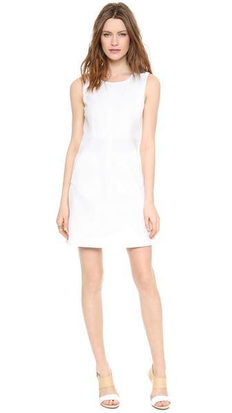 Diane Von Furstenberg Carpreena Mini Dress - White