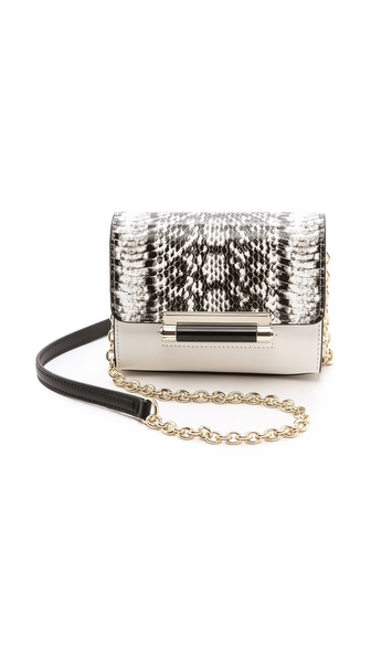 Diane von Furstenberg 440 Micro Mini Bag with Exotic Print