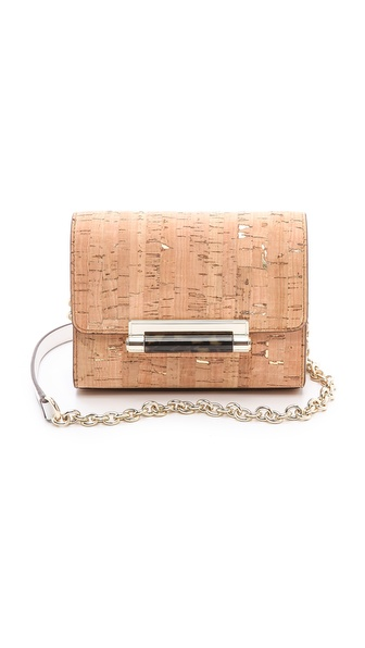 Diane von Furstenberg 440 Micro Mini with Metallic Cork