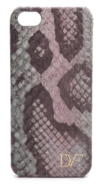 Diane von Furstenberg Camouflage Snake iPhone Case