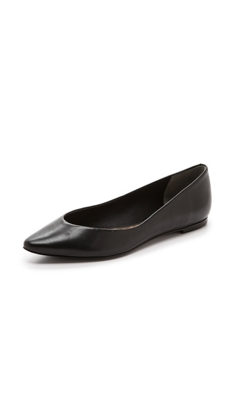 Diane von Furstenberg Emma Pointed Toe Flats