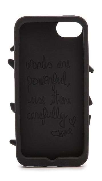 Diane von Furstenberg 立体嘴唇造型 iPhone 5 / 5S 护套