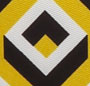 Square Diamond Small Yellow