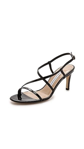 Diane Von Furstenberg Diane Von Furstenberg Keenan Strappy Sandals (Black)