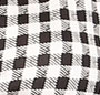 Gingham Small Black