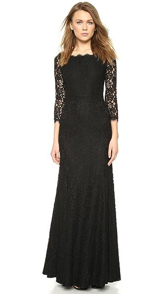 Kupi Diane von Furstenberg haljinu online i raspordaja za kupiti Diane Von Furstenberg Zarita Lace Gown Black online