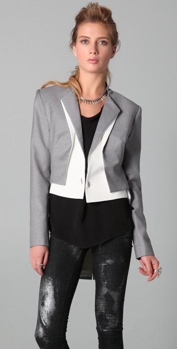 Dion Lee Intersection Tail Coat