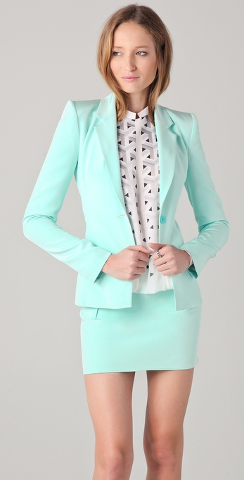 Dion Lee Element Bonded Blazer