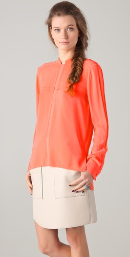 Dion Lee Sheer Placket Shirt