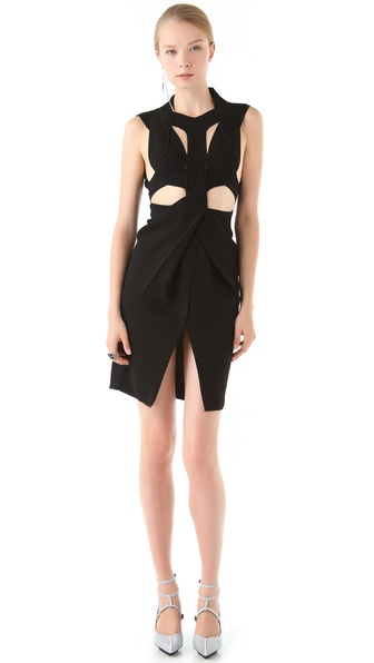 Dion Lee Laceration Dress