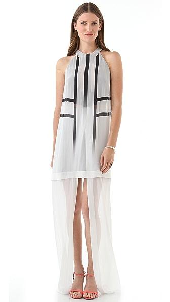 Dion Lee Exo Column Long Dress