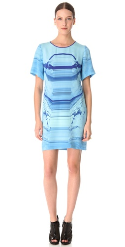 Dion Lee Moon Mask Tee Dress