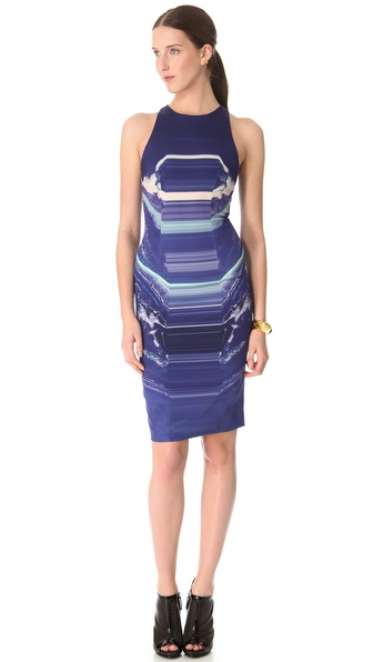 Dion Lee Moon Mask Shift Dress