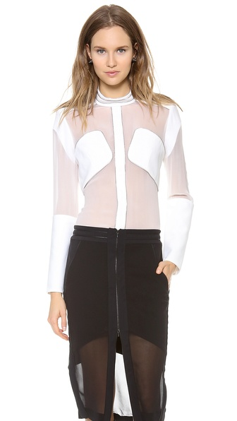 Dion Lee Free Zip Shirt