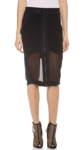 Dion Lee Free Zip Skirt