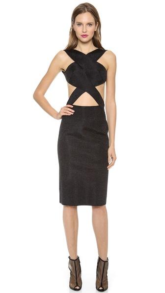 Dion Lee Vertigo Backless Knit Dress