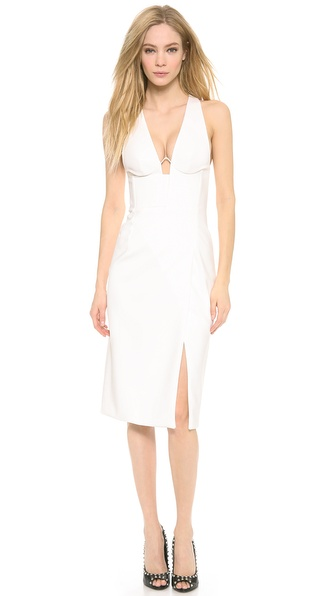 Dion Lee Hybrid Wire Dress - White