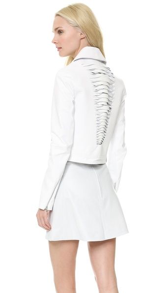 Dion Lee Renewal Leather Biker Jacket