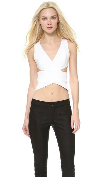 Dion Lee Interlock Silk Top