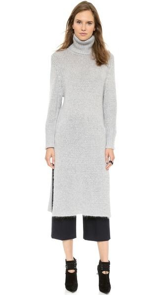 Dion Lee Angora Blend Sweater Dress