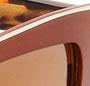Gold Satin Brown/Gold Mirror