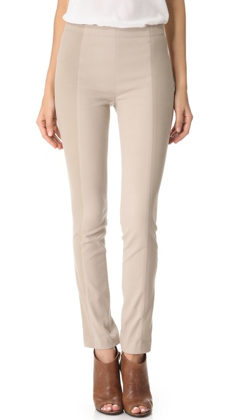 Donna Karan New York Slubbed Jersey Leggings