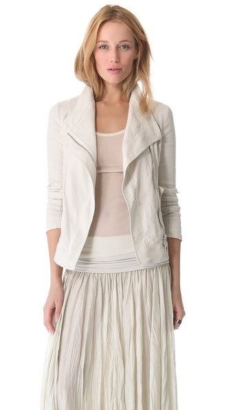 Donna Karan New York Asymmetrical Zip Jacket