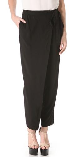Donna Karan New York Wrap Culotte Pants