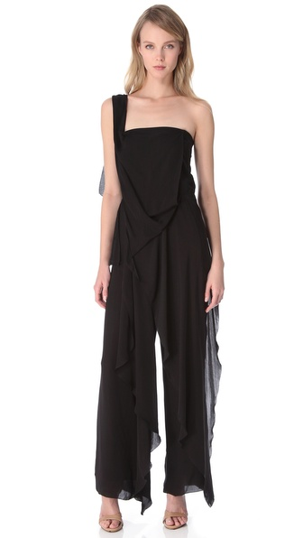 Donna Karan New York Cascade Jumpsuit