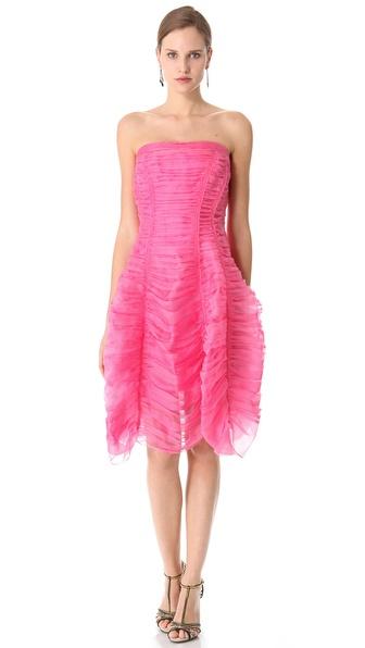 Donna Karan New York Crushed Suspended Halter Dress