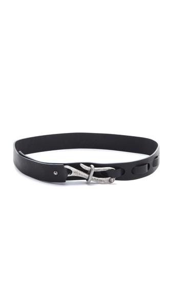 Donna Karan New York Single Hook Belt