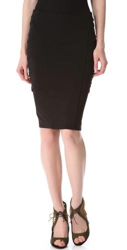 Donna Karan New York Crisscross Side Skirt