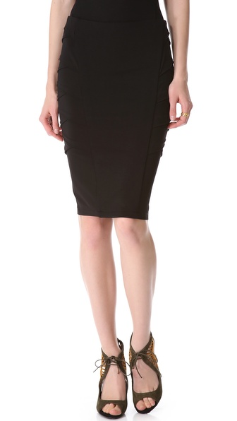 Donna Karan New York Crisscross Side Skirt