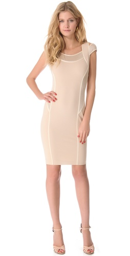 Shop Donna Karan New York Cold Shoulder Dress and Donna Karan New York online - Apparel,Womens,Dresses,Cocktail,Night_Out, online Store