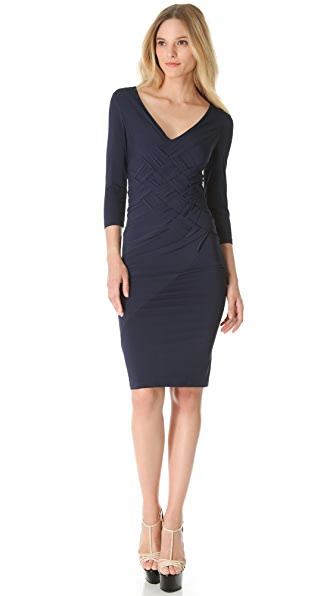 Donna Karan New York Banded Draped Dress