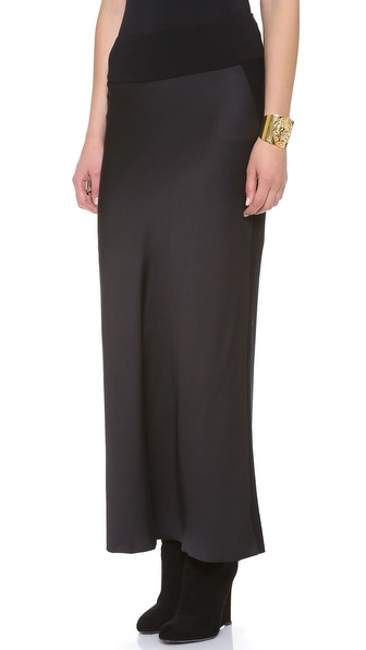 Donna Karan New York Satin Skirt
