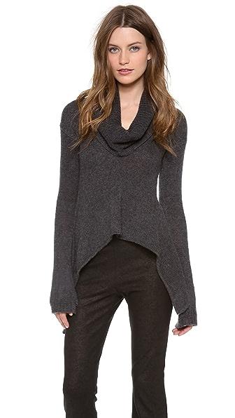 Donna Karan New York Drape Collar Sweater