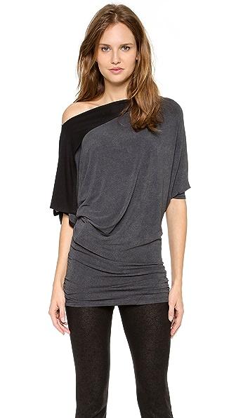 Donna Karan New York Draped Tunic Top
