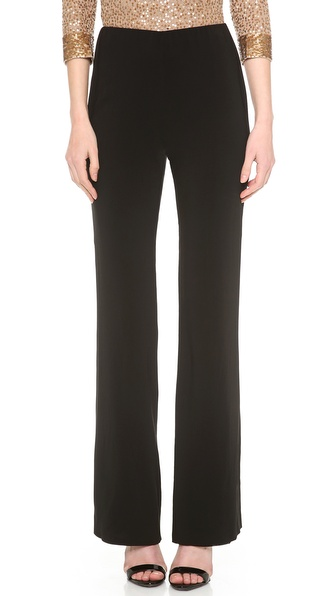 Donna Karan New York Pull On Fluted Leg Pants