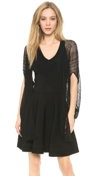 Donna Karan New York Draped Cardigan