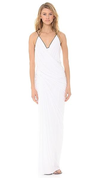 Donna Karan New York Plunge V Evening Gown