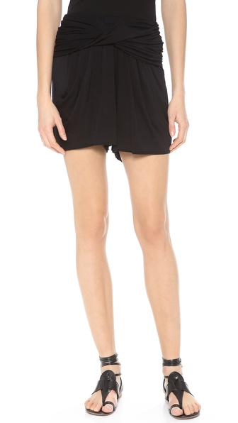 Donna Karan New York Draped Shorts