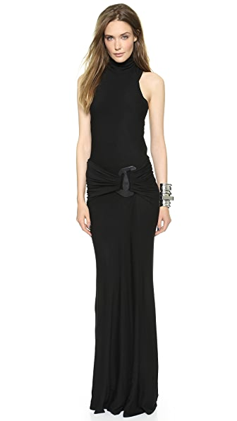 Donna Karan New York Sleeveless Turtleneck Dress