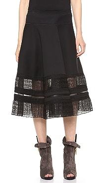 Donna Karan New York Suspension Circle Skirt