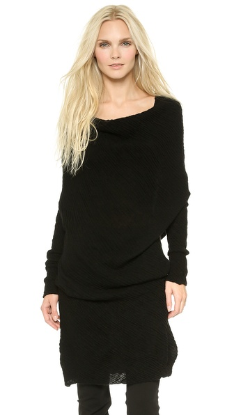 Donna Karan New York Off the Shoulder Tunic