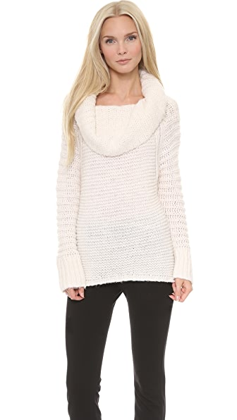 Donna Karan New York Oversized Cowl Neck Sweater
