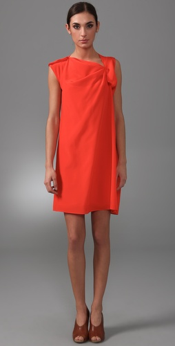 Derek Lam Draped Asymmetrical Dress
